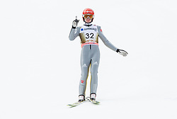 Richard Freitag (GER) // Richard Freitag of Germany reacts during 2nd Round of the Ski Flying Hill Individual Competition at Day 2 of FIS Ski Jumping World Cup Final 2018, on March 23, 2018 in Planica, Slovenia. Photo by Vid Ponikvar / Sportida