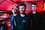 "Promotional photos for Edinburgh band ""Favourite Customer"""