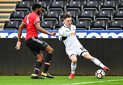 Liam Cullen of Swansea City in action - Mandatory by-line: Craig Thomas/Replay images - 18/03/2018 - FOOTBALL - Liberty Stadium - Swansea, England - Swansea City U23 v Manchester United U23 - Premier League 2 - Divison 1