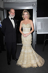 HRH PRINCE MICHAEL OF KENT and AMANDA HOLDEN at the Collars & Coats Gala Ball celebrating 150 years of Battersea Dogs & Cats Home held at Battersea Power Station, London on 25th November 2010.
