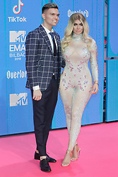 attend the MTV Europe Music Awards held at the Bilbao Exhibition Centre, Spain on November 4, 2018. Photo by Archie Andrews/ABACAPRESS.COM