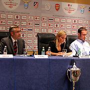 NLD/Amsterdam/20070801 - Persconferentie LG Amsterdam Tournament 2007, David Broomhall en Kim Schermerhorn