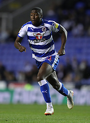 """Reading's Yakou Meite during the Sky Bet Championship match between Reading and Queens Park Rangers. PRESS ASSOCIATION Photo. Picture date:  Tuesday October 2, 2018. See PA story SOCCER Reading. Photo credit should read: Andrew Matthews/PA Wire. RESTRICTIONS: EDITORIAL USE ONLY No use with unauthorised audio, video, data, fixture lists, club/league logos or """"live"""" services. Online in-match use limited to 120 images, no video emulation. No use in betting, games or single club/league/player publications"""