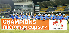 Sri Lanka v India - 5th ODI cricket - 3 Sep 2017