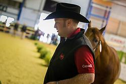 Matthew Hudson, (CAN), Its All About Smart - Horse Inspection Reining  - Alltech FEI World Equestrian Games™ 2014 - Normandy, France.<br /> © Hippo Foto Team - Dirk Caremans<br /> 25/06/14