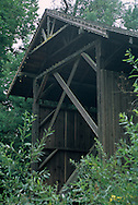 Felton Covered Bridge, c.1892 - tallest wooded covered Bridge in country, Felton, Santa Cruz County, California