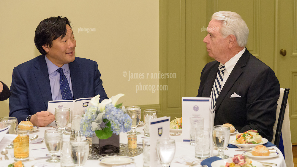 2016 Kiphuth Medal Recipient Ming Tsai '86. Yale University Athletics. New Haven Connecticut 23 February 2016.