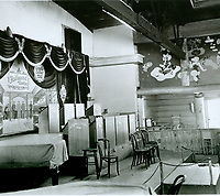1943 Looking at stage and NW corner of the Hollywood Canteen