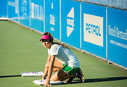 Ball girl during 1st Round of ATP Challenger Tilia Slovenia Open 2016, on August 8, 2016 in Portoroz/Portorose, Slovenia. Photo by Vid Ponikvar / Sportida