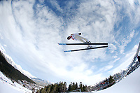 Kombinert -19. januar 2014 ,   NORDISCHE KOMBINATION, SKISPRINGEN - FIS Weltcup, Nordic Triple. Bild zeigt  Magnus Moan (NOR). <br /> Norway only