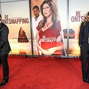 NLD/Amsterdam/20150420 - Premiere de Ontsnapping, Albert verlinde en Sophie Hilbrand