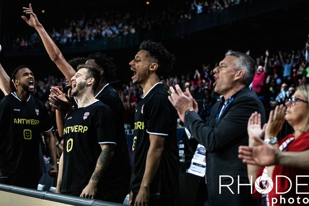 Basketball Champions League Final Four Antwerp 2019<br /> Semi-Final: Iberostar Tenerife (ESP) vs. Telenet Antwerp Giants (BEL) 70 - 54 <br /> <br /> ©RhodePhoto