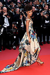 Thandie Newton attending the Solo: A Star Wars Story premiere at the 71st Cannes Film Festival