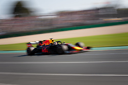 March 17, 2019 - Albert Park, VIC, U.S. - ALBERT PARK, VIC - MARCH 17: Aston Martin Red Bull Racing driver Pierre Gasly (10) during the race at The Australian Formula One Grand Prix on March 17, 2019, at The Melbourne Grand Prix Circuit in Albert Park, Australia. (Photo by Speed Media/Icon Sportswire) (Credit Image: © Steven Markham/Icon SMI via ZUMA Press)