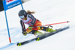 Cassidy Gray (CAN) during Ladies' Giant Slalom at 57th Golden Fox event at Audi FIS Ski World Cup 2020/21, on January 17, 2021 in Podkoren, Kranjska Gora, Slovenia. Photo by Vid Ponikvar / Sportida