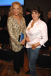 Left to right, HRH PRINCESS MICHAEL OF KENT and TRACEY EMIN at an auction in aid of The Parkinson's Appeal for Deep Brain Stimulation 'Meeting of Minds' held at Christie's, King Street, London SW1 followed by a dinner at St.John, 26 St.John Street, London on 16th October 2007.<br /><br />NON EXCLUSIVE - WORLD RIGHTS