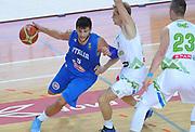DESCRIZIONE : Capodistria Koper Nazionale Italia Uomini Adecco Cup Italia Slovenia Italy Slovenia<br /> GIOCATORE : Alessandro Gentile<br /> CATEGORIA : palleggio<br /> SQUADRA : Italia Italy<br /> EVENTO : Adecco Cup<br /> GARA : Italia Slovenia Italy Slovenia<br /> DATA : 23/08/2015<br /> SPORT : Pallacanestro<br /> AUTORE : Agenzia Ciamillo-Castoria/A.Scaroni<br /> Galleria : FIP Nazionali 2015<br /> Fotonotizia : Capodistria Koper Nazionale Italia Uomini Adecco Cup Italia Slovenia Italy Slovenia