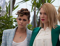 Jury members Kristen Stewart, Léa Seydoux, at the Jury photo call at the 71st Cannes Film Festival Tuesday 8th May 2018, Cannes, France. Photo credit: Doreen Kennedy