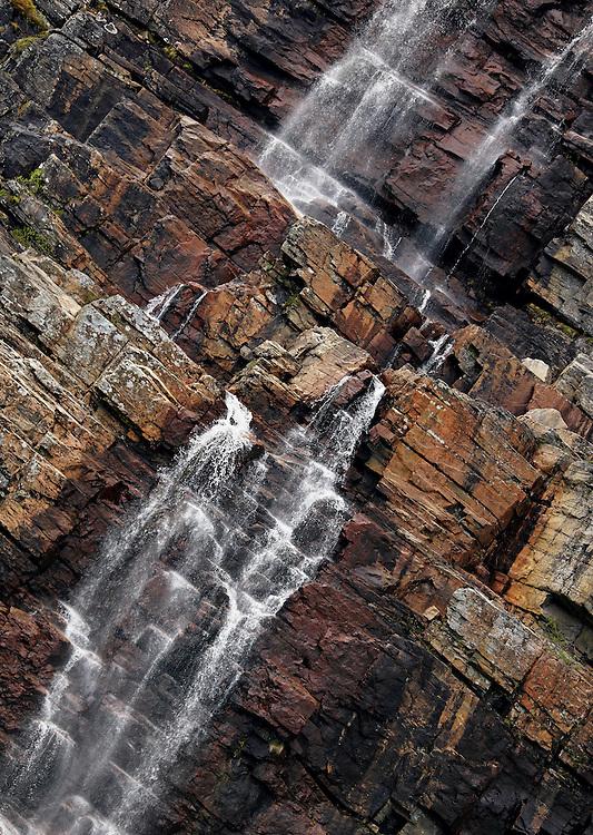 Norway - Waterfall in Vakkerfjellet