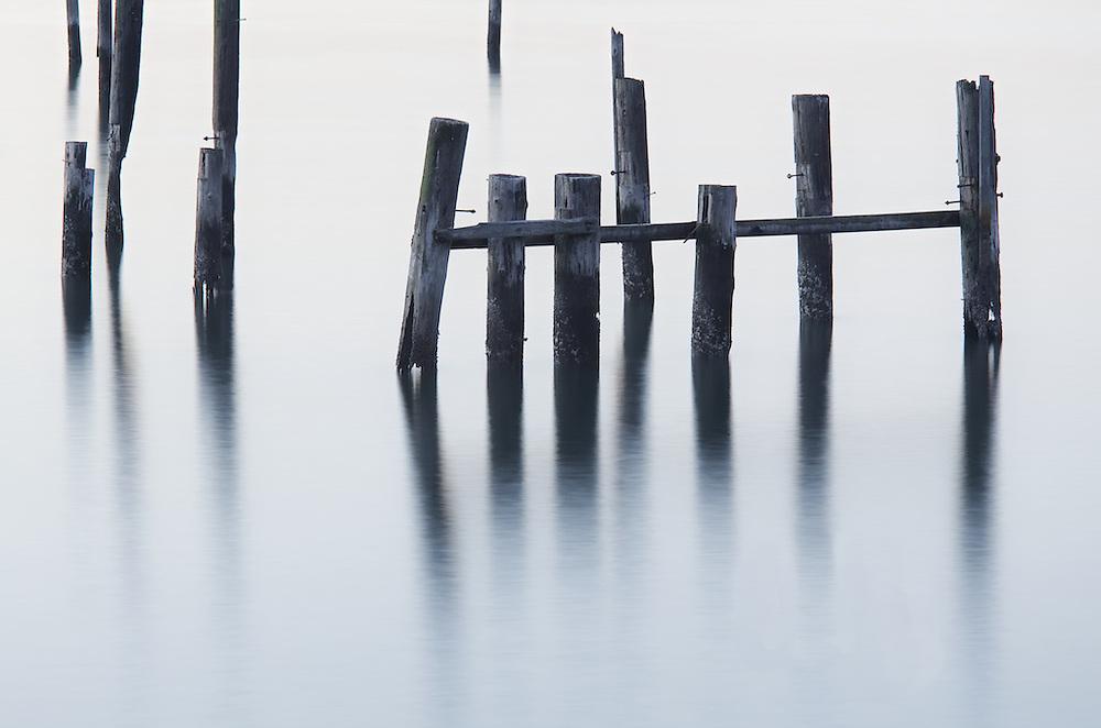 sausalito sunrise waterpoles