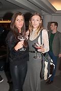 LARA GLENNIE; OLIVIA GLENNIE, Launch of Equinox, 99 Kensington High st. Former Rainbow Room, London, . 23 October 2012.