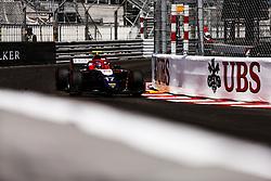 May 25, 2018 - Montecarlo, Monaco - 17 Santino FERRUCCI from United States of America of TRIDENT RACING during the Monaco Formula One Grand Prix  at Monaco on 23th of May, 2018 in Montecarlo, Monaco. (Credit Image: © Xavier Bonilla/NurPhoto via ZUMA Press)