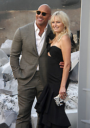 Rampage Premiere at The Microsoft Theatre in Los Angeles, California on 4/4/18. 04 Apr 2018 Pictured: Dwayne Johnson, Malin Akerman. Photo credit: River / MEGA TheMegaAgency.com +1 888 505 6342