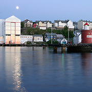 Three weeks aboard the Kong Harald. Hurtigruten, the Coastal Express. Alesund.