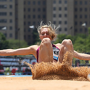 Anna Pyatykh, Russia, in action during the Women's Triple Jump competition during the Diamond League Adidas Grand Prix at Icahn Stadium, Randall's Island, Manhattan, New York, USA. 14th June 2014. Photo Tim Clayton