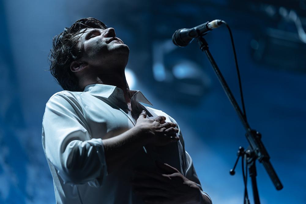 Swiss singer-songwriter Julian Pollina aka Faber at Haldern Pop Festival