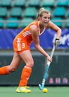 DEN HAAG - XAN DE WAARD. Nederland speelt oefenwedstrijd tegen USA in het Kyocera Stadion. COPYRIGHT KOEN SUYK