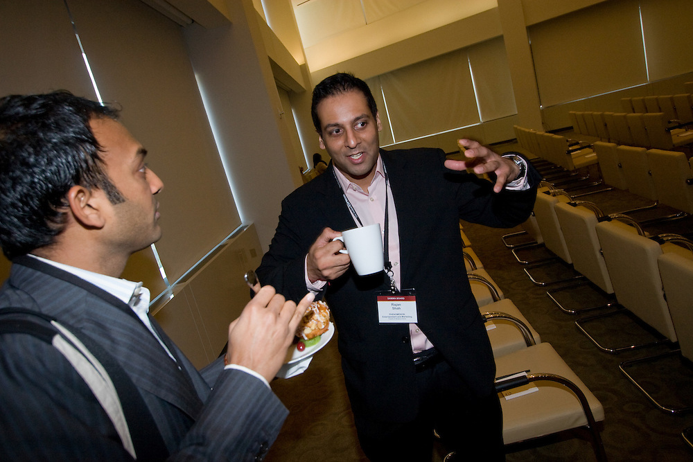 Rajan Shah (President & Managing Director, PHENOMENON Entertainment and Marketing), [right]