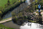 Nederland, Drenthe, Coevorden, 01-05-2013;<br /> Watertoren van Heutszpark<br /> Water tower.<br /> luchtfoto (toeslag op standard tarieven);<br /> aerial photo (additional fee required);<br /> copyright foto/photo Siebe Swart
