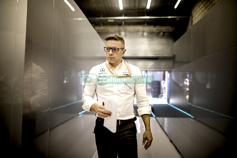 August 31, 2019, Spa-Francorchamps, Belgium: Motorsports: FIA Formula One World Championship 2019, Grand Prix of Belgium, ..Peter Bonnington (GBR, Mercedes AMG Petronas Motorsport) (Credit Image: © Hoch Zwei via ZUMA Wire)