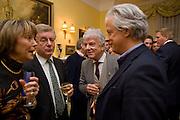 LADY MEYER; NICK LLOYD; NICKY HASLAM; LORD KENILWORTH. Mrs. Richard Briggs at home to celebrate Catherine Meyer's birthday. Sloane Gardens. London. 28 January 2009
