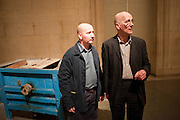 THRESHING MACHINE; DANIEL HACKER; PATRICK KEILLER, Patrick Keiller The  Robinson Institute,  The Duveens Commission: - Tate Britain, Millbank, London. 26 March 2012.