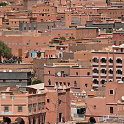 Town in the Dades Valley, Morocco