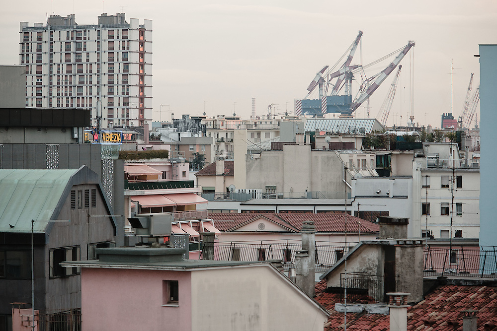 28 NOV 2007 - Mestre (VE) - Gru della Fincantieri a Porto Marghera :-: 207AB028BAG0001