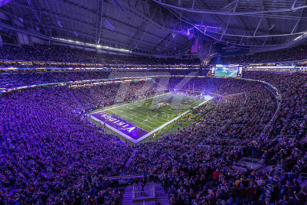 Minnesota Vikings vs. Dallas Cowboys on December 1, 2016 at U.S. Bank Stadium in Minneapolis, Minnesota.  Photo by Ben Krause/Minnesota Vikings