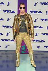 August 27, 2017 - Inglewood, California, U.S. - Jeremy Scott arrives for the 2017 MTV Video Music Awards at The Forum. (Credit Image: © Lisa O'Connor via ZUMA Wire)