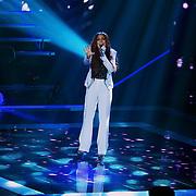 NLD/Hilversum/20131107- The Voice of Holland 1e live uitzending, optreden Jill Helena