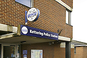 Photograph of Kettering Police station, in Northamptonshire. headquarters of the Northern area Policing unit. Situated on london Road in Kettering next to the magistrates court