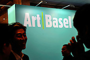 HONG KONG - MARCH 13:  Visitors in art fair Art Basel on its preview day on March 13, 2015 in Hong Kong, Hong Kong.  (Photo by Lucas Schifres/Getty Images)