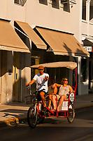 Pedicab, Duval Street, Key West, Florida Keys, Florida USA