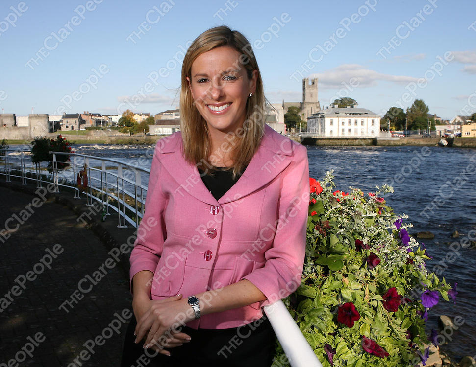 Laura Ryan ,Communications Executive Limerick Co-Ordination Office.<br /> <br /> Photograph by Eamon Ward