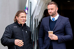 Wycombe Wanderers manager Gareth Ainsworth and Chesterfield caretaker manager Ian Evatt - Mandatory by-line: Ryan Crockett/JMP - 28/04/2018 - FOOTBALL - Proact Stadium - Chesterfield, England - Chesterfield v Wycombe Wanderers - Sky Bet League Two