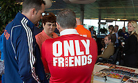 AMSTERDAM - ONLY FRIENDS . KNHB Symposium Train de Trainer, voor trainer, coach , begeleider binnen het aangepaste hockey. Dit alles in het Ronald MacDonald Centre in Amsterdam. COPYRIGHT KOEN SUYK