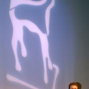NLD/Utrecht/20050928 - Nederlands Filmfestival 2005, Premiere film Leef, Rene Mioch voor het logo