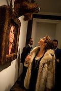 SARAH HIRIGOYEN, ' You're Only Young Twice' Jonathan Yeo exhibition. Lazarides. 11 Rathbone Place. London. 9 December 2011.
