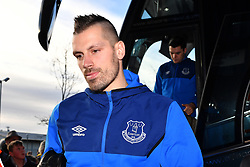 Everton's Morgan Schneiderlin arrives